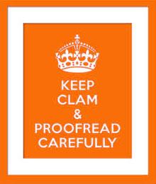 proof read logo